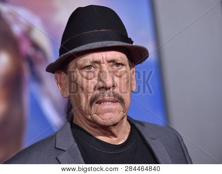 LOS ANGELES - FEB 05:  Danny Trejo arrives for the 'Alita: Battle Angel' Premiere on February 05, 2019 in Westwood, CA
