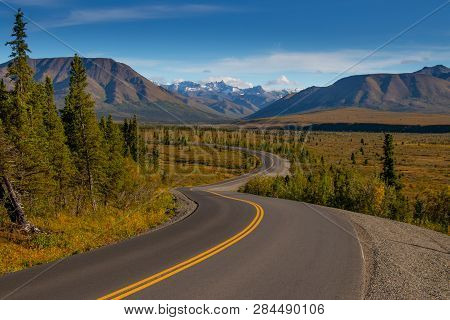 Denali National Park And Preserve Is A National Park And Preserve Located In Interior Alaska, Center