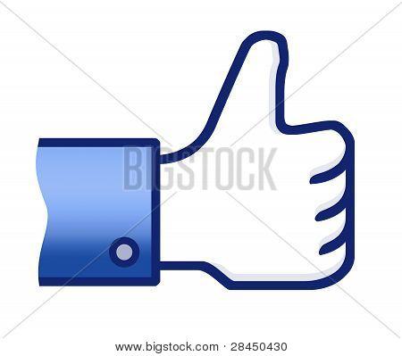 Like Thumb Up Symbol