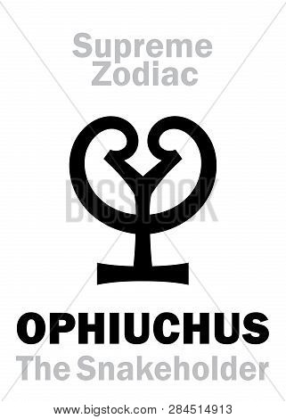 Astrology Alphabet: Ophiuchus (the Snakeholder), Constellation Ophiuchus (oth.name: Serpentarius / A