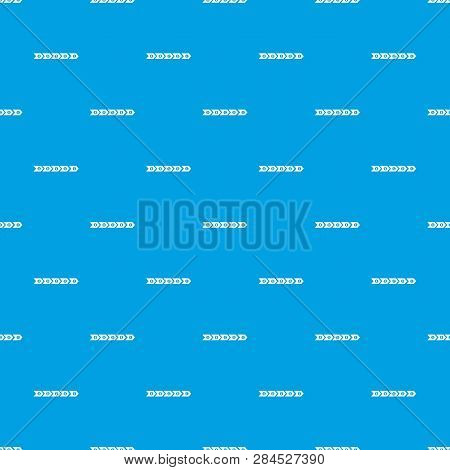 Step By Step Infographic Pattern Repeat Seamless In Blue Color For Any Design. Geometric Illustratio