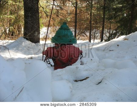 Red Green Fire Hydrant