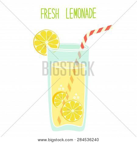 Cute Vintage Card Fresh Lemonade For Your Decoration