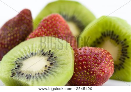 Kiwi And Strawberry