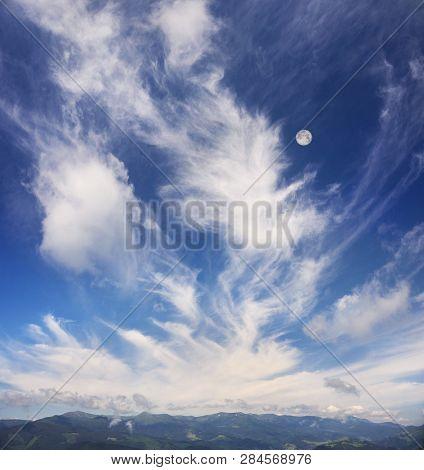 Cirrus Clouds In Europe