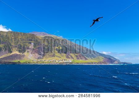 Edinburgh Of The Seven Seas, The Main And Only Town, Settlement Of Tristan Da Cunha, The Most Remote