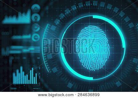 Access And Biometrics Concept