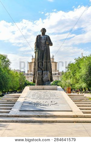 Monument To Garegin Nzhdeh - Yerevan, Armenia