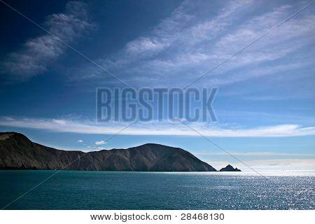 Sea Coast With Blue Sky