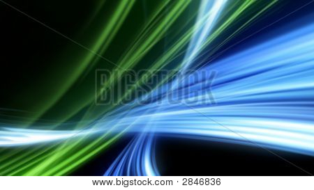 Abstract Strokes Of Light