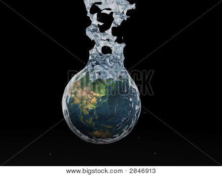 Earth Splashing