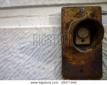 Old Stop Button Ready Industry Machine