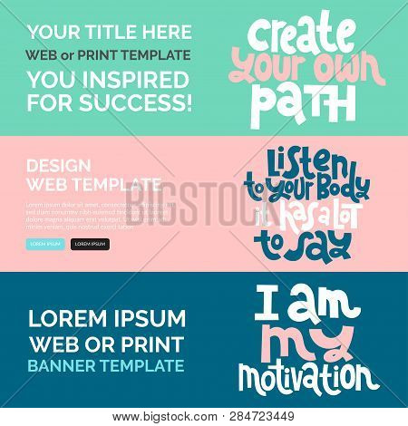 Web Print Banners Vector Photo Free Trial Bigstock