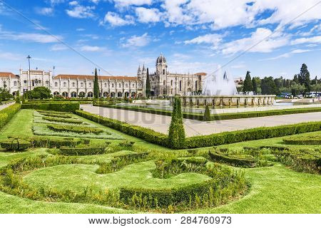 Jeronimos Monastery In Lisbon Jeronimos - The Most Grandiose Monument To Late-manueline Portuguese S