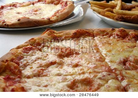 Pizza Chicken and Fries