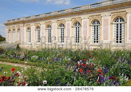 Le Grand Trianon in the park of Versailles Palace poster