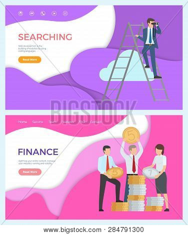 Finance, Optimize Online Content, Increase Website Ranking And Visibility. Vector Searching, Web Dev