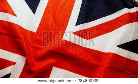British Uk Flag Background. The National Flag Of The United Kingdom, Union Jack, Union Flag.