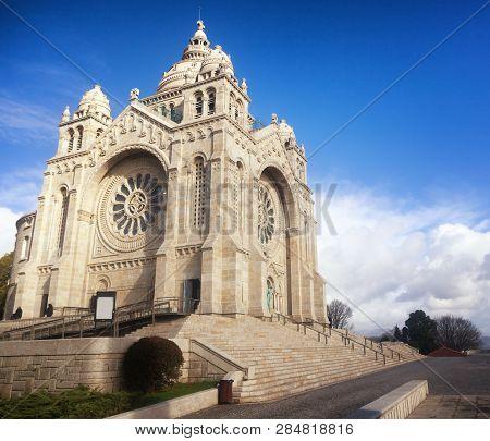 Santa Luzia Basilic In Viana Do Castelo North Portugal