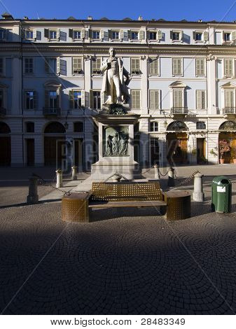 Piazza Gioberti Particular, Turin Piedmont Italy