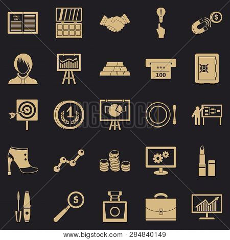 Symposium Icons Set. Simple Set Of 25 Symposium Vector Icons For Web For Any Design