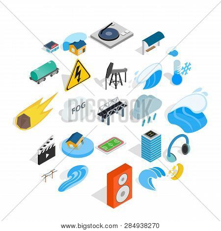 Might Icons Set. Isometric Set Of 25 Might Vector Icons For Web Isolated On White Background