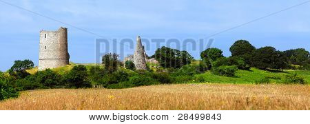 Ancient Castle On The Hill