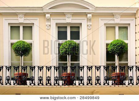 English balcony