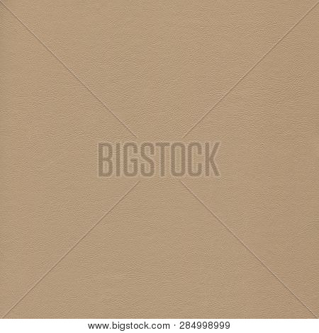 A Textured Brown Leather Background For Designers .
