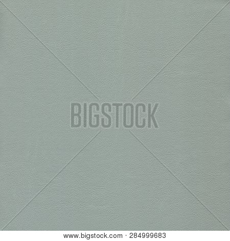 Gray, Gentle, Light Textured Leather Background For Design.