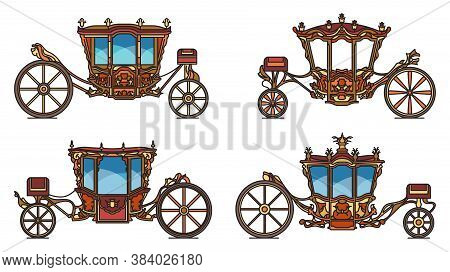 Royal Wheel Transport Or Vintage Carriage Set