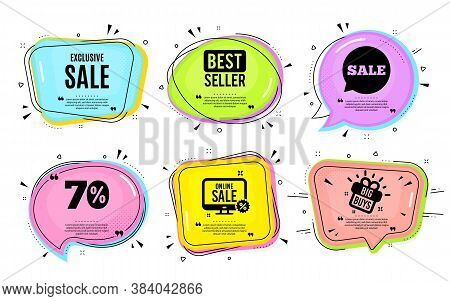 Exclusive Sale. Big Buys, Online Shopping. Special Offer Price Sign. Advertising Discounts Symbol. Q