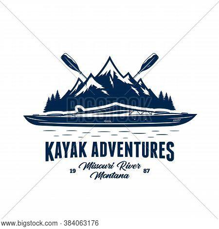 Vector Kayak Adventures Badge