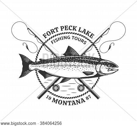 Fishing Logo And Design Elements