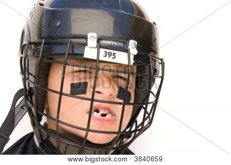 Youth Hockey Player