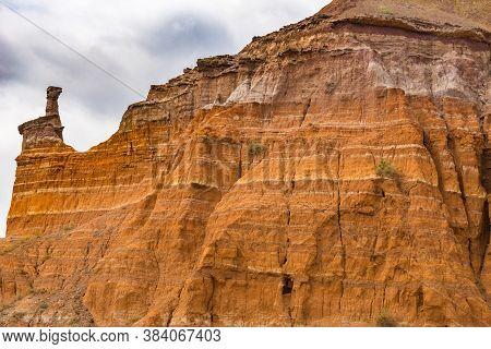 Palo Duro Canyon System Of Caprock Escarpment Located In Texas Panhandle Near Amarillo, Texas, Unite