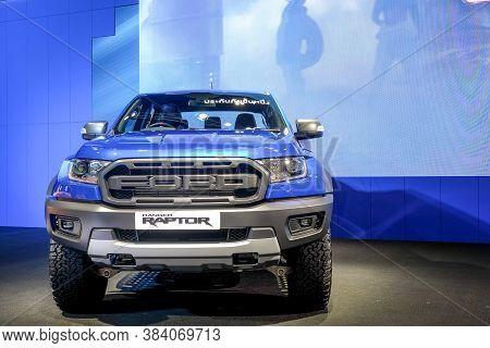 Nonthaburi-thailand 30 Nov 2018: Ford Ranger Raptor Show On Display At The 35th Thailand Internation