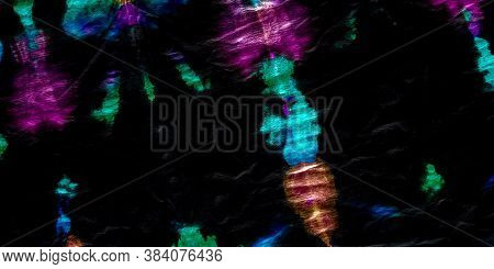Dirty Splatter Paint. Multicolor Street Art Splash. Black Dirty Vintage Design. Brush Tie Dye. Color