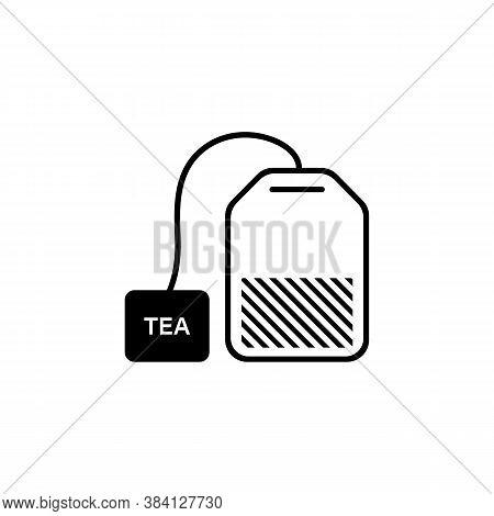 Tea Bag Icon. Vector On Isolated White Background. Eps 10