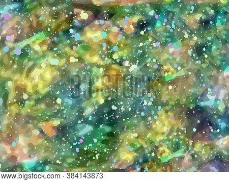 Opal Gemstone Background. Trendy Vector Template For Holiday Designs, Invitation, Card, Weddin