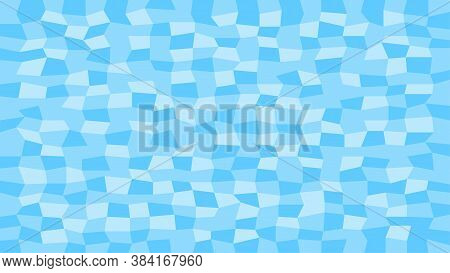 Abstract Tile Light Blue Color For Decoration And Background, Blue Texture For Decorative Wall, Mode