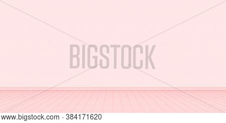 Empty Wall Room Red Pastel Color, Wall Interior Of House Living Room, Interior Wall Blank Space, Ind