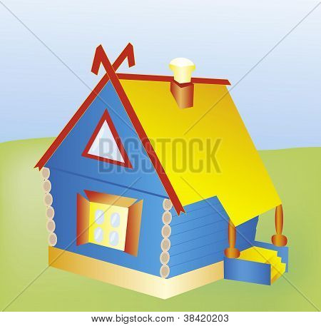 Vector toy house