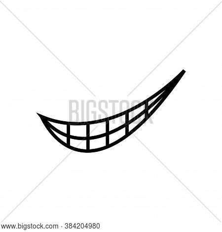 Smirk Expression Icon Design Template Vector Isolated