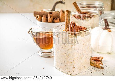 Maple Cinnamon Overnight Oatmeal