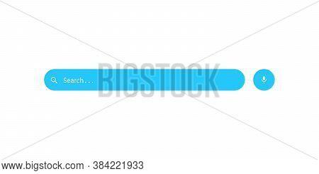 Search Bar Flat Icon Vector Illustration. Search Box Symbol Design
