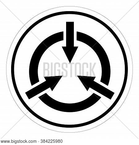 Static Device Symbol Sign,vector Illustration, Isolated On White Background Label. Eps10