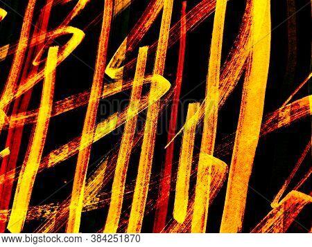 Brush Stripe. Xmas Drawn Background. Autumn Stripe Patchwork. Autumn Strip. Brush Stroke Linear. Ora