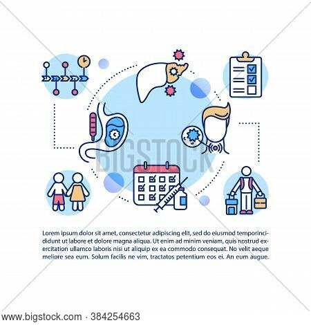 Chronic Diseases Concept Icon With Text. Ppt Page Vector Template. Respiratory And Gastrointestinal