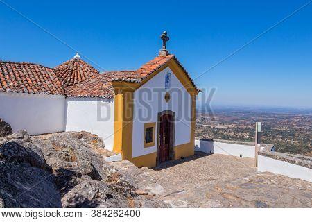 Ermida da Nossa Senhora da Penha in Serra de Sao Mamede mountain in Castelo de Vide, Portugal